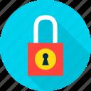 computer, lock, padlock, password, safety, secure, security