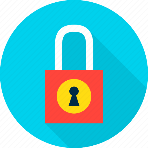 computer, lock, padlock, password, safety, secure, security icon