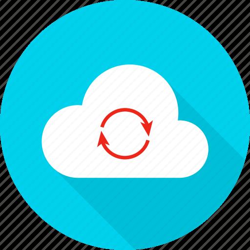 big, cloud, computer, computing, data, technology, upload icon