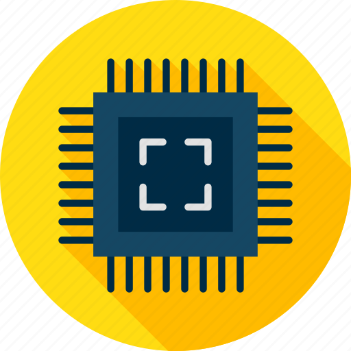 board, chip, circuit, computer, electronic, microchip, technology icon