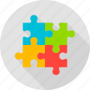 business, game, jigsaw, piece, puzzle, team, teamwork icon