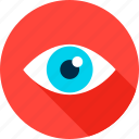 business, eye, eyesight, health, look, search, vision icon