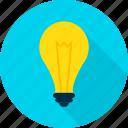 bulb, creativity, electricity, idea, lamp, light