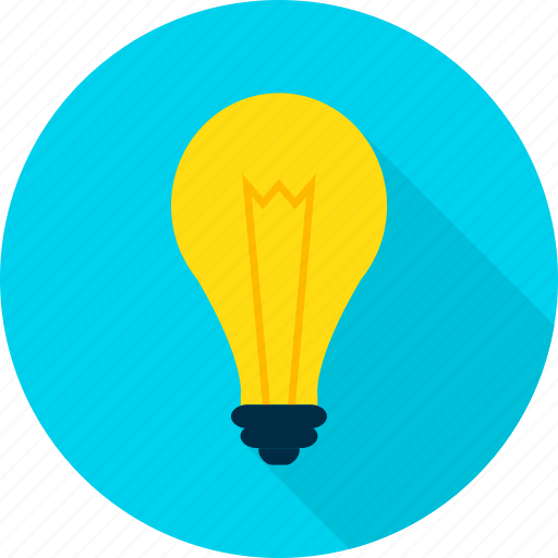 bulb, creativity, electricity, idea, lamp, light icon