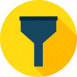 analysis, big, business, data, filter, funnel, lead icon