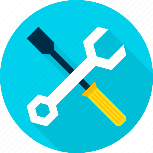 industry, screwdriver, setting, settings, tool, wrench icon