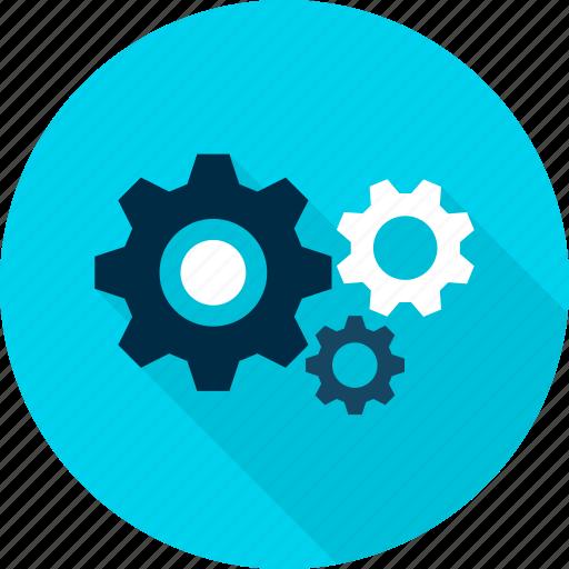 cog, cogwheel, gear, gearwheel, setting, wheel icon