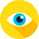business, eye, eyeball, health, look, search, vision icon
