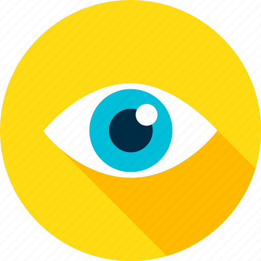 business, eye, eyeball, health, look, search, vision icon