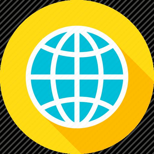 computer, earth, global, globe, technology, travel, worldwide icon