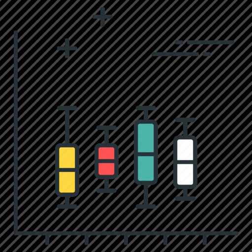 box plot, chart, data, diagram, graph, statistics, stats icon