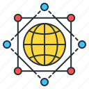 global, global infrastructure, global network, global summit, international, worldwide icon