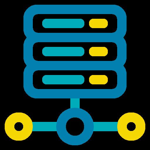 big data, database, hosting, server, storage icon