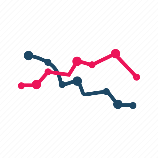 analytics, data flow, process, statistics, variability icon