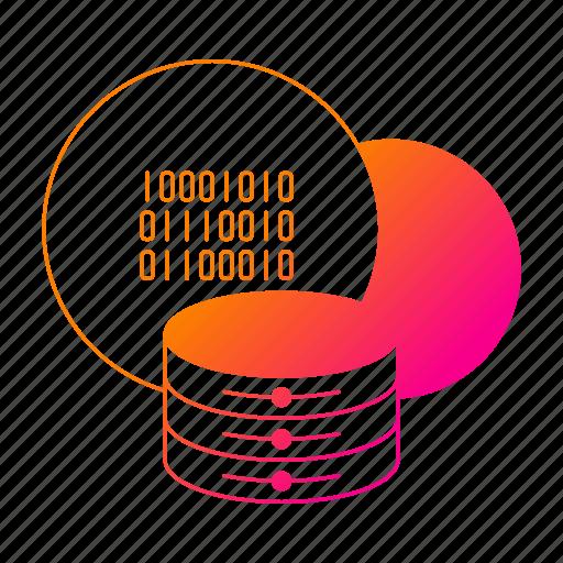 big data, cloud, database, server, storage icon
