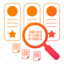 archive, big data, document, search, storage icon