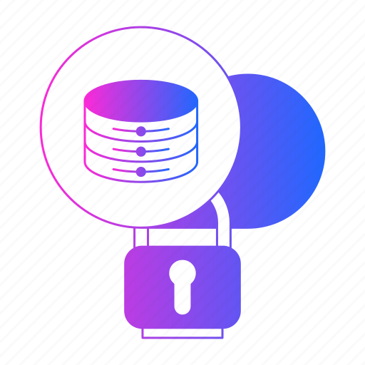 big data, cloud, security, server, storage icon