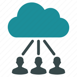 cloud links, communication, interface, network, session, user connections, users icon