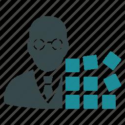 administrator, architect, assembler, computer science, developer, hacker, programmer icon