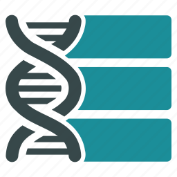 big data, biology, database, dna base, genetics, genome, storage icon