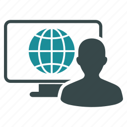communication, connection, global, internet, network, online, web access icon