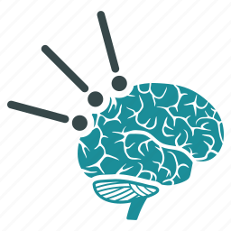 brain interface, medical, memory, mind probe, neuro, science, test icon