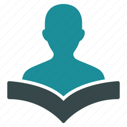 education, knowledge, learning, reader, student, study, training icon