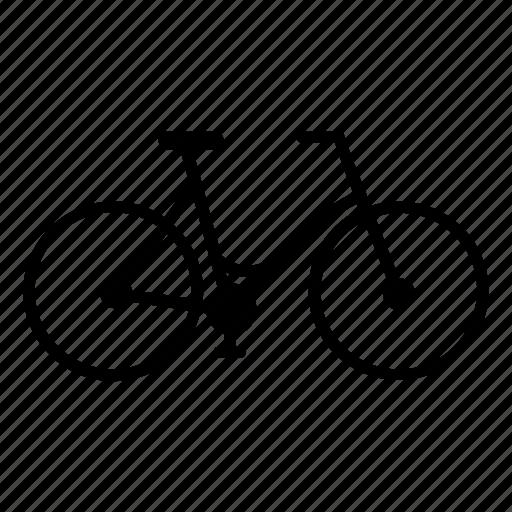 bicycle, bike, city, girl, leftmartinez, ride, street icon