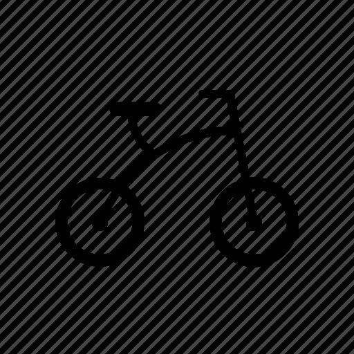 bicycle, bike, kid, leftmartinez, toy, tricycle icon