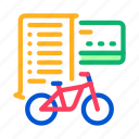 bicycle, business, card, deal, payment, services, share