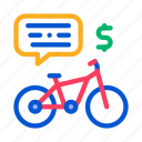 agreement, bicycle, business, deal, payment, share, using