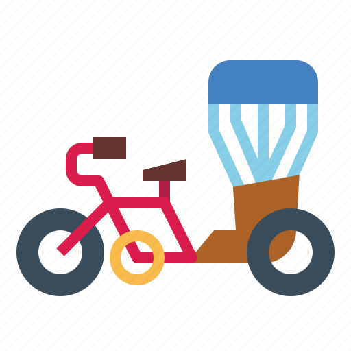 Motorbike, thai, transportation, tricycle, vehicle icon - Download on Iconfinder