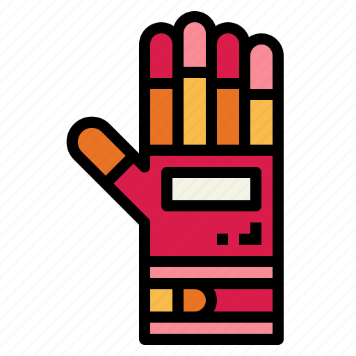 glove, hand, protections, security icon