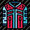 clothes, equipment, jacket, uniform icon