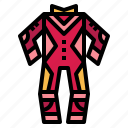 clothing, fashion, race, suit icon