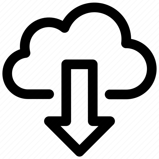 cloud, data, download, downloading, network, tranfer, transfer icon icon