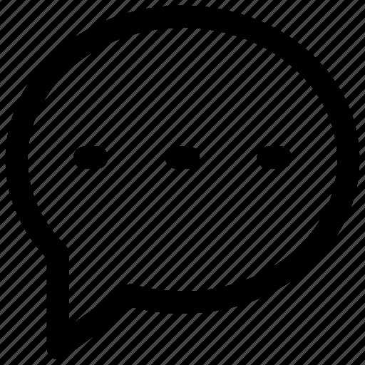 bubble, chat, conversation, message icon icon