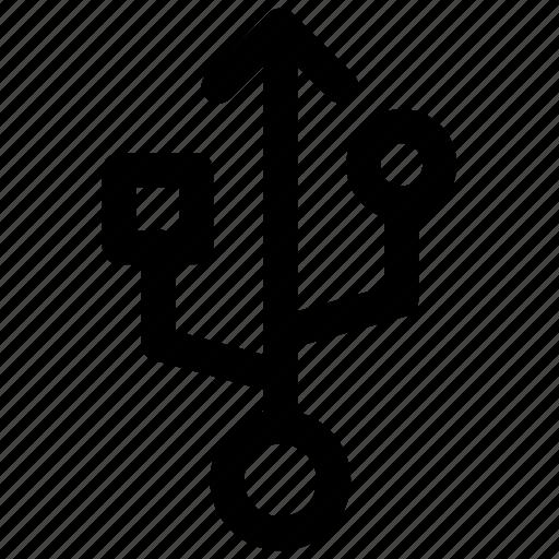 drive, flash, sign, storage, usb icon icon