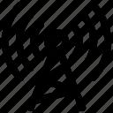 antenna, network, signal, wireless icon icon