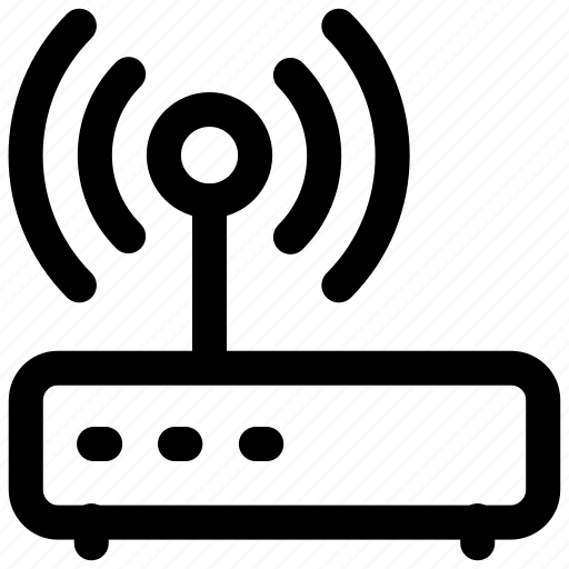 communication, connection, dsl, information, internet, signals icon icon