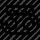 communication, connection, radio, technology icon icon