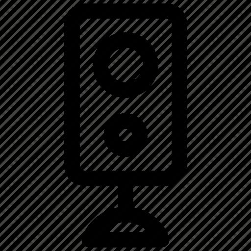 music, sound, speaker, subwoofer icon icon