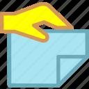 deliver, document, file, paper, send icon