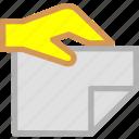 deliver, document, file, send icon