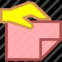 attachment, deliver, document, file, office, send icon