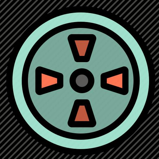 fan, turbine, wind icon