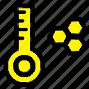 meter, temperature, thermometer icon