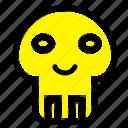biochemistry, danger, dangerous, death icon