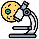 biochemistry, biology, cell, chemistry, laboratory, microscope, science icon