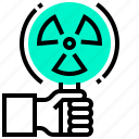 biochemistry, biology, chemistry, dangerous, radiation, science, warning icon